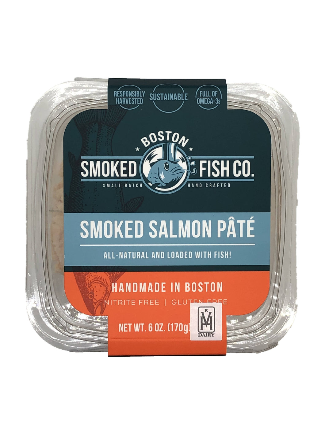 Smoked Salmon Pâté - 12 x 6 oz