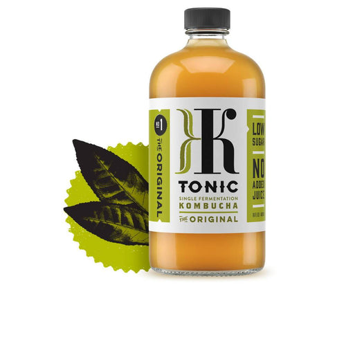 Farm2Me - Beverage - KTonic Kombucha - The Original Kombucha Bottle - 12 x 16oz - The Original Kombucha Bottle - 12 x 16oz -
