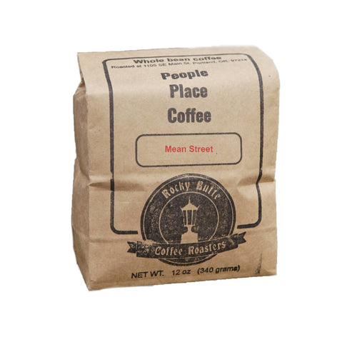 Farm2Me - beverage - Rocky Butte Coffee Roasters - Mean Street Coffee Beans (Dark Roast) - 12 OZ x 10 - Mean Street Coffee Beans (Dark Roast) - 12 OZ x 10 -
