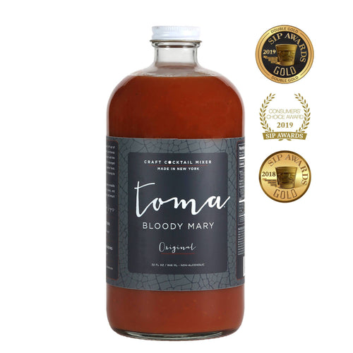 Farm2Me - Beverage - Toma Bloody Mary Mixers - Toma Bloody Mary Mixer - Original - 6 x 32oz - Toma Bloody Mary Mixer - Original - 6 x 32oz - BM32ozReg_6pk