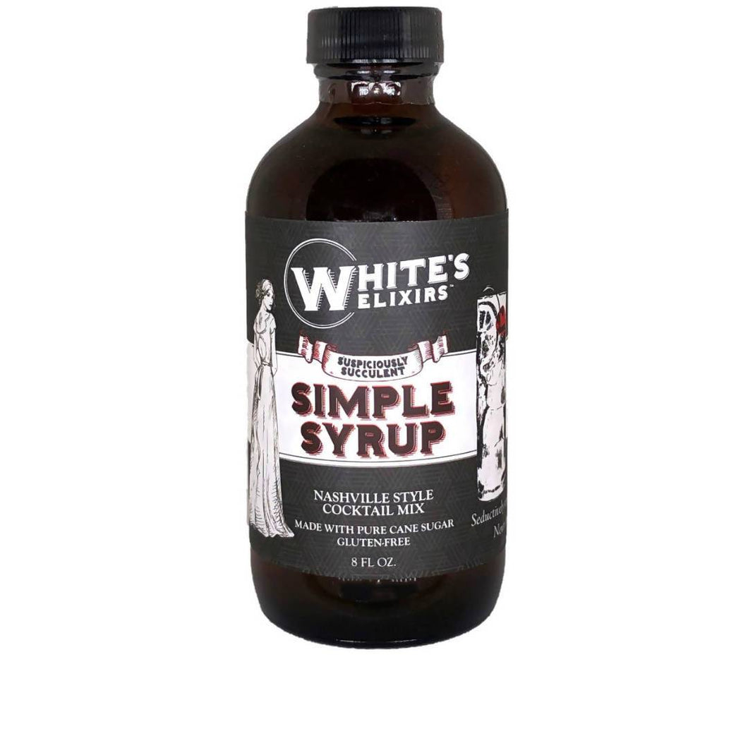 Farm2Me - Beverage - White's Elixirs - Simple Syrup Bottle - 24 x 8oz - Simple Syrup Bottle - 24 x 8oz - 680474077861