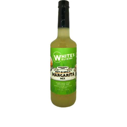 Farm2Me - Beverage - White's Elixirs - Spicy Margarita Mix Bottle - 12 x 750mL - Spicy Margarita Mix Bottle - 12 x 750mL - 680327994796
