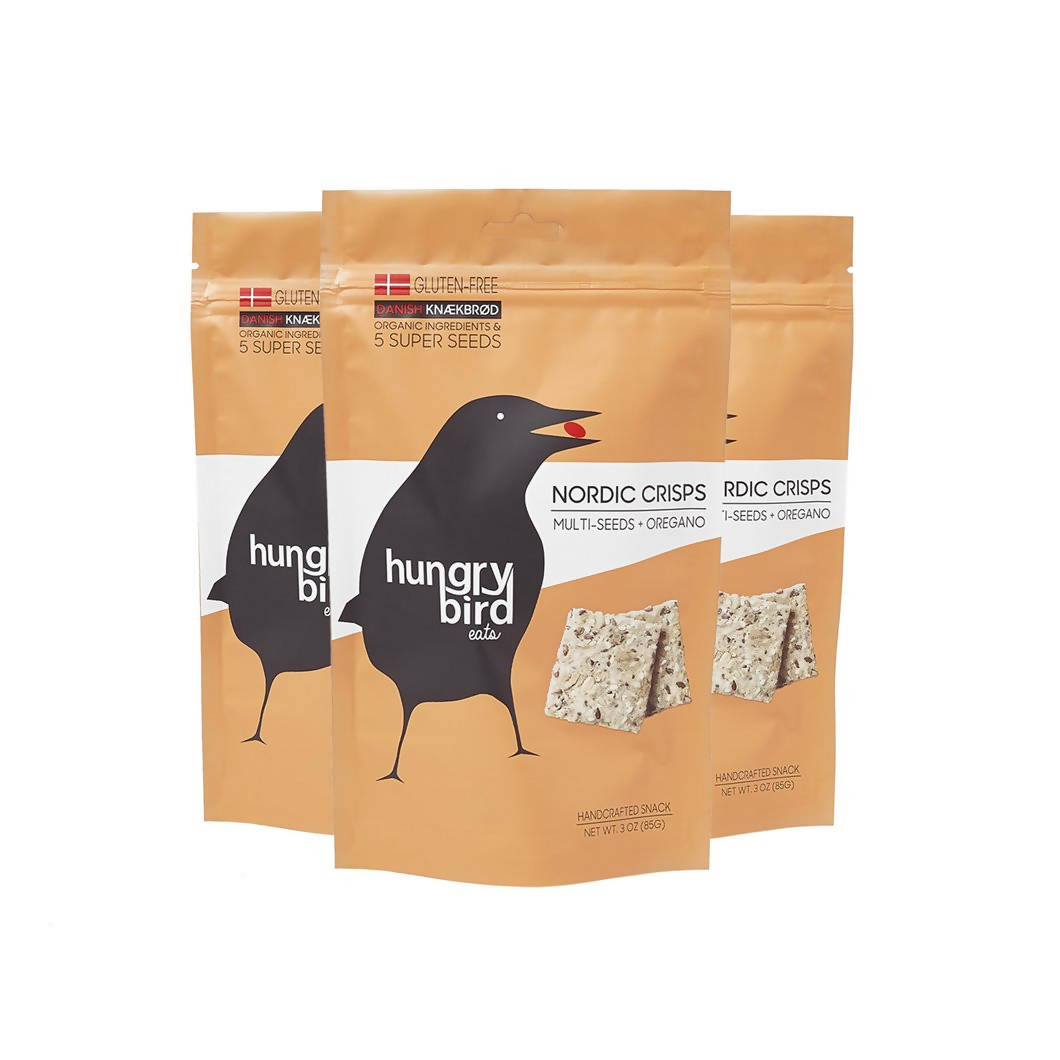 Multi-Seeds + Oregano Nordic Crisps - 12 x 3oz