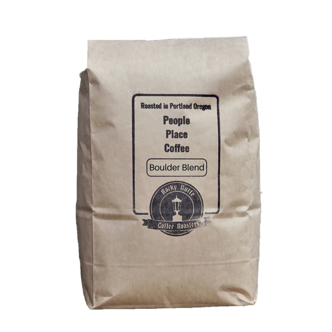 Boulder Blend Coffee Beans (Medium Roast) - 20 LB