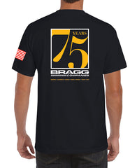 Bragg - 75th Anniversary Men's Short Sleeve Pocket T-Shirt