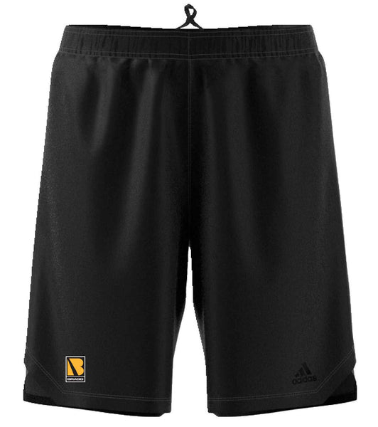 BRAGG Adidas Men's Black Axis Knit Training Shorts