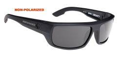 Bragg Spy Bounty Optic Z87 Certified Sunglasses Gray/Green Non-Polarized Lenses