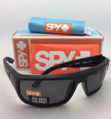 Bragg Spy Bounty Z87 ANSI Certified Sunglasses - Gray/Green Polarized