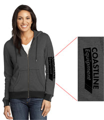 Coastline Women's Full Zip Hoodie