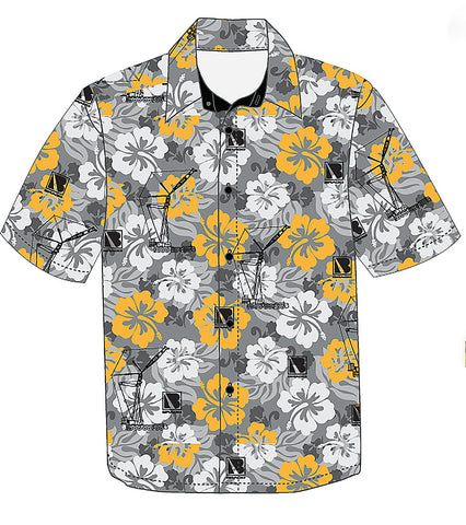 Bragg Custom Hawaiian Shirt - Pocketless