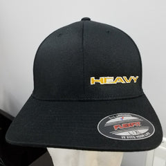 Bragg Heavy Transport - FlexFit Cotton Blend Cap with Flag (Fitted)