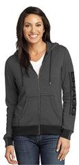 Full-Zip Striped Hoodie (Women's)