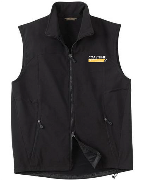 Coastline Crane Division - North End Men's Soft Shell Vest