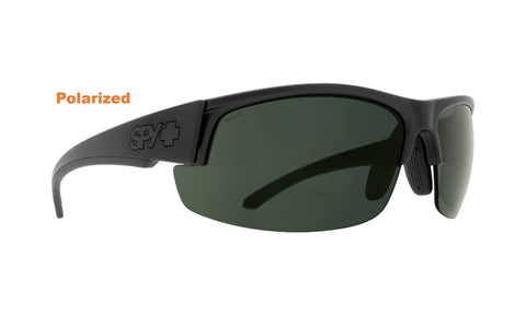 Bragg Spy Optic Sprinter Z87 ANSI Certified Sunglasses - Gray/Green Polarized