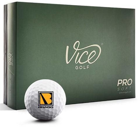 Bragg - Vice Golf Pro Soft Golf Balls (1 Dozen)