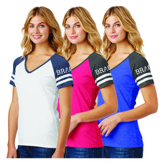 Bragg Women's V-Neck T-Shirts