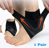 WALK-FREE™ THE ADJUSTABLE ELASTIC ANKLE BRACE - Ankle Support Brace,Elasticity Free Adjustment Protection Foot Bandage,Sprain Prevention Sport Fitness Guard Band - 5econds.co