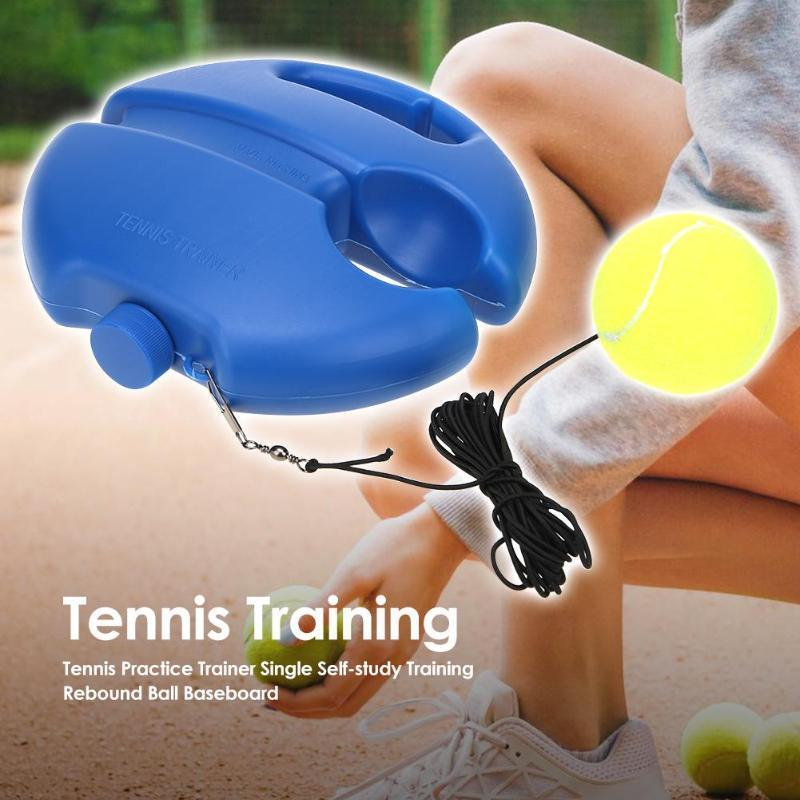 Tennis Trainer™ - Tennis Training Tool Exercise Ball Sport Rebound Baseboard Sparring Device - 5econds.co