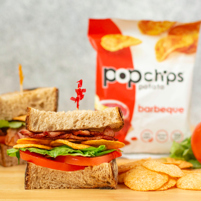 BLT sandwich recipe with popchips added in for extra crunch