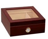 Chalet Glass Top Humidor