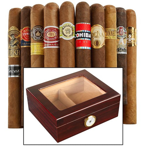 Top-Shelf Humidor Combo