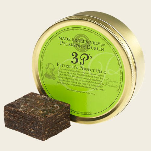 Peterson 3 P's Perfect Plug Pipe Tobacco