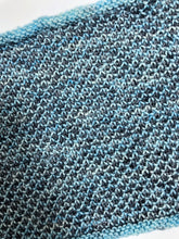 Load image into Gallery viewer, Textured Cowl in Shades of Blue & Gray