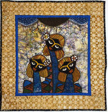 Load image into Gallery viewer, Artisan Batik Quilt - Three Sisters Wall art