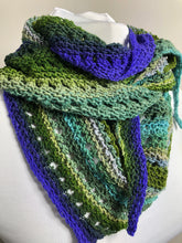 Load image into Gallery viewer, Asymmetrical Hand Knit Scarf
