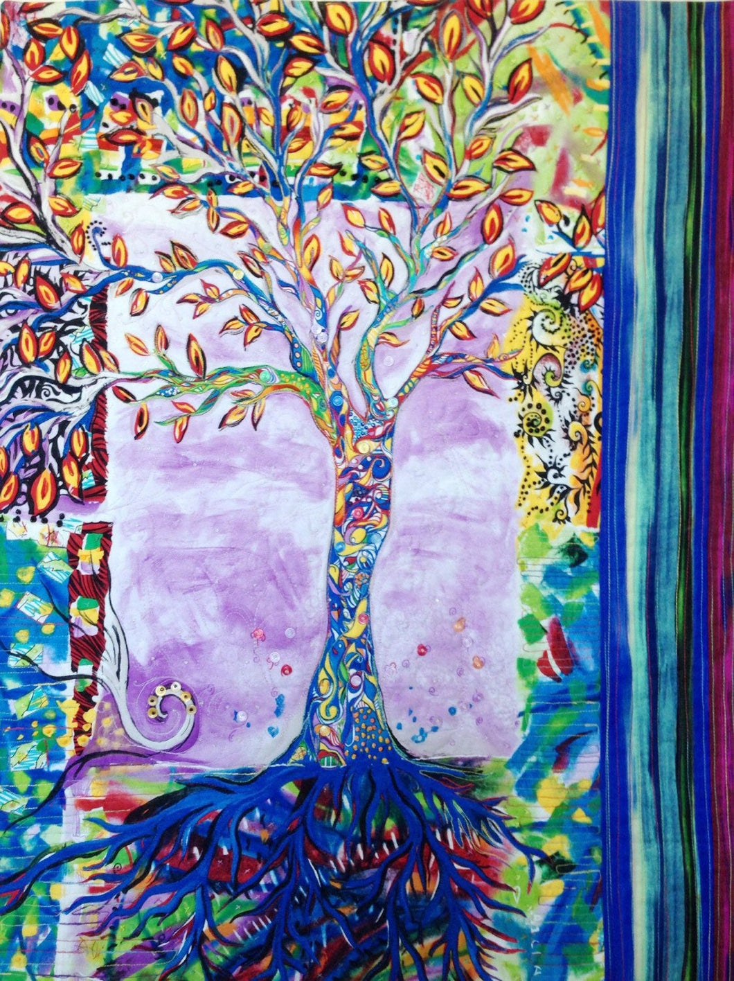 Tree of Life Art Quilt