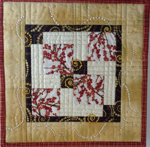 Holiday Quilted Wall Art