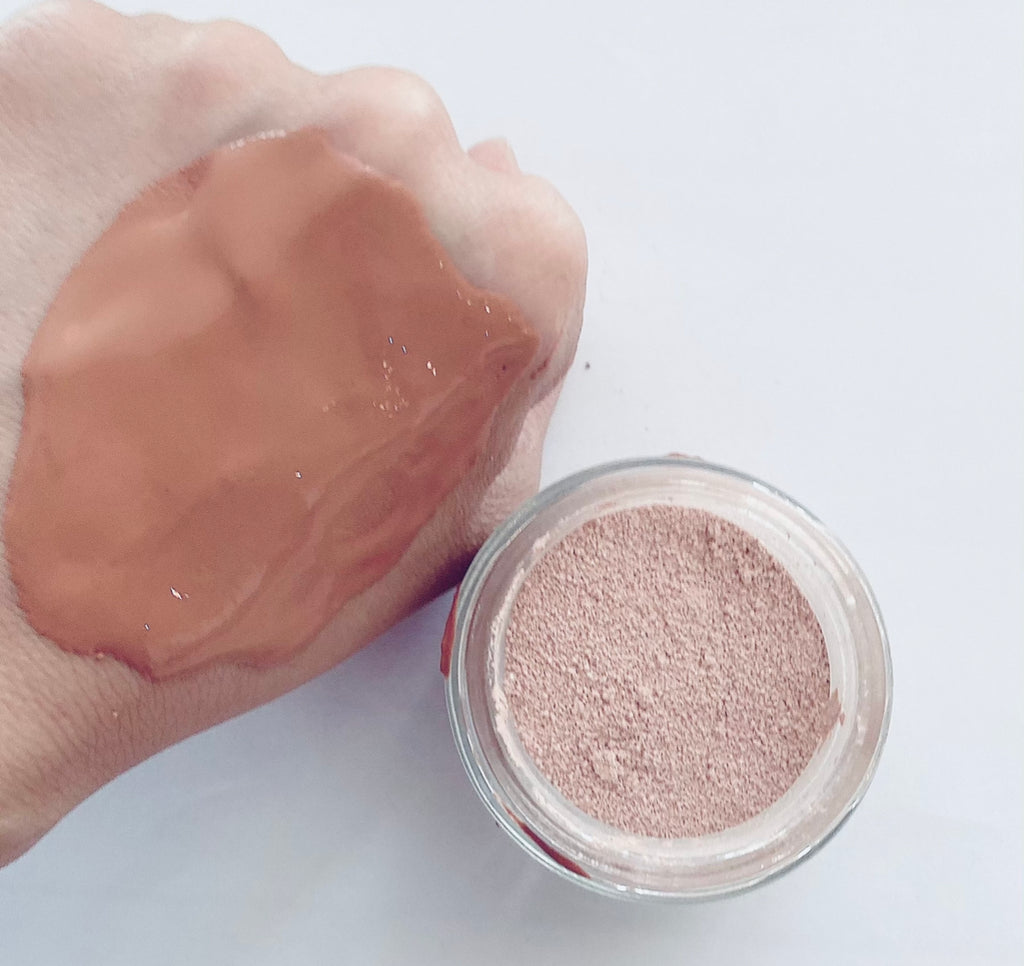 Rosy Pink Clay Mask