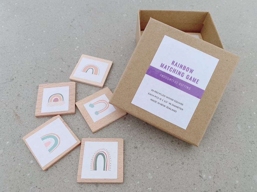 This matching game is simple to set up and learn, helps children develop concentration, memory and matching skills.