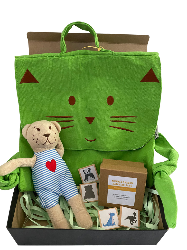 Green Cat Gift Box