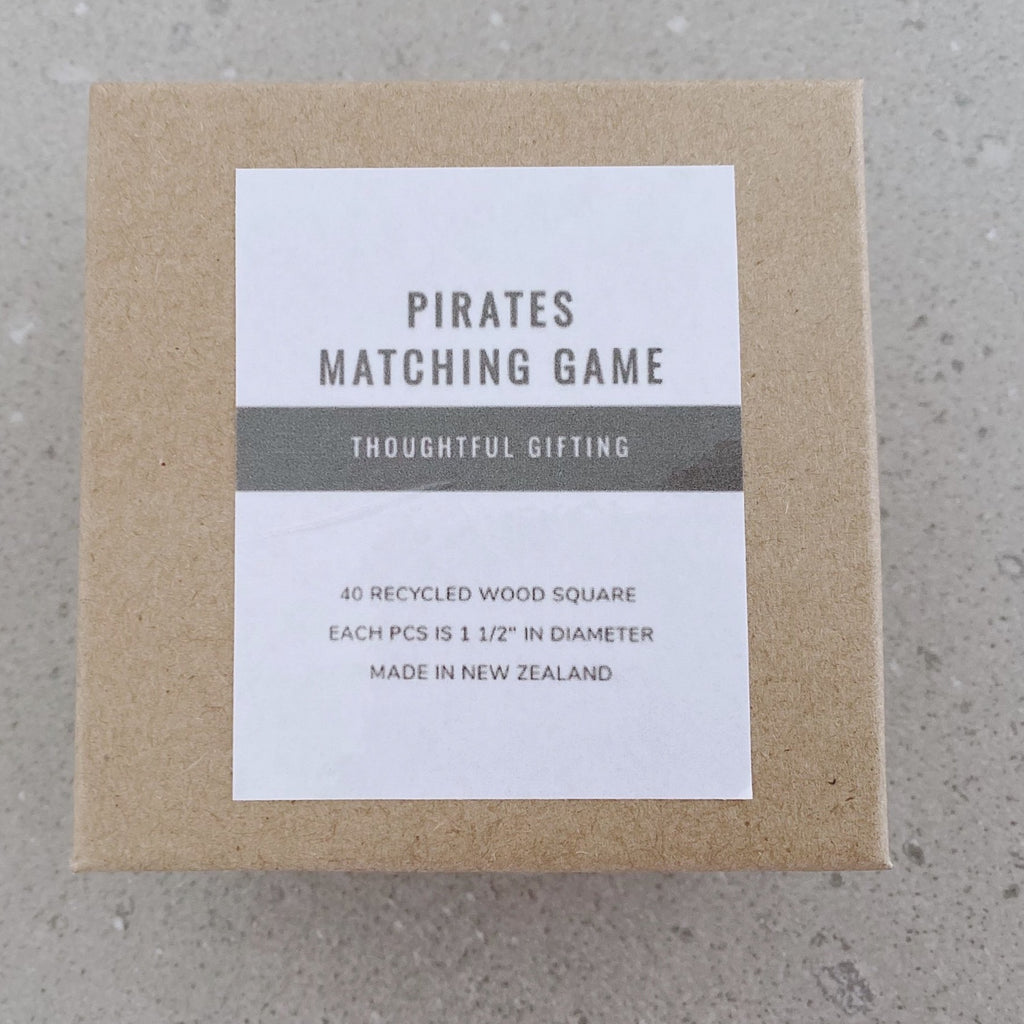 This pirates matching game is simple to set up and learn, helps children develop concentration, memory and matching skills.