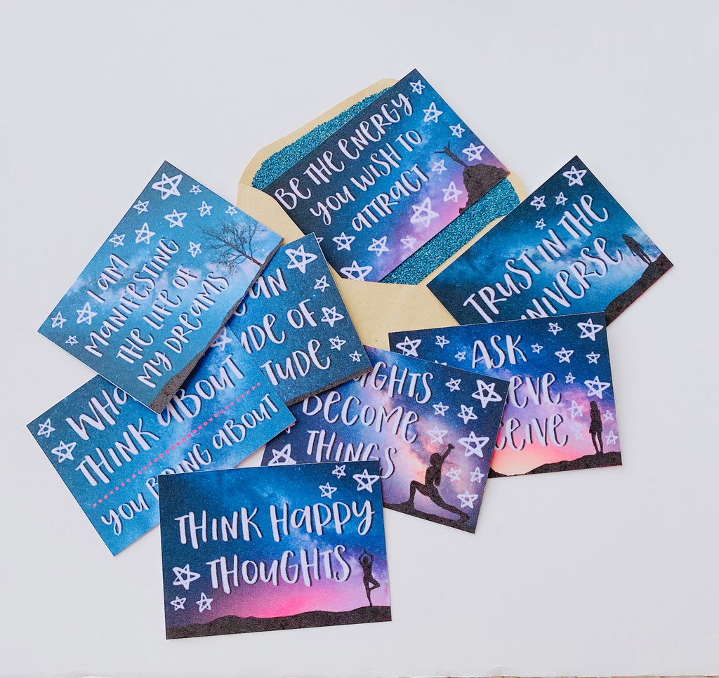 Affirmation mini cards