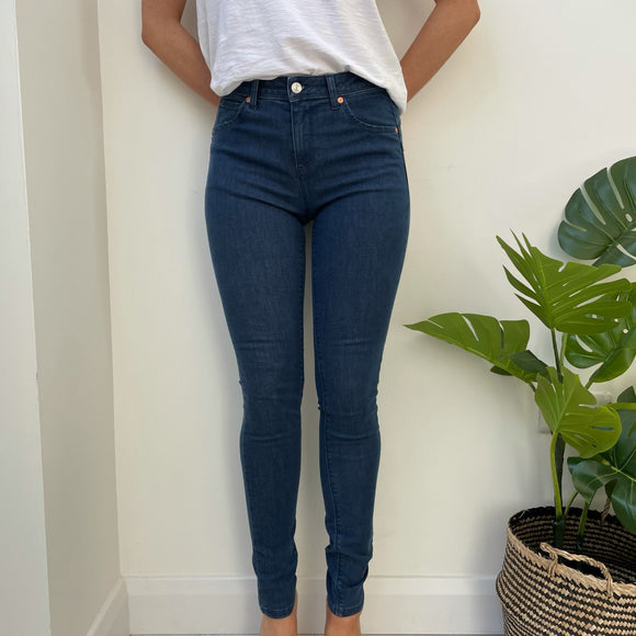 Dark Blue 922 Skinny Fit Push Up Jeans