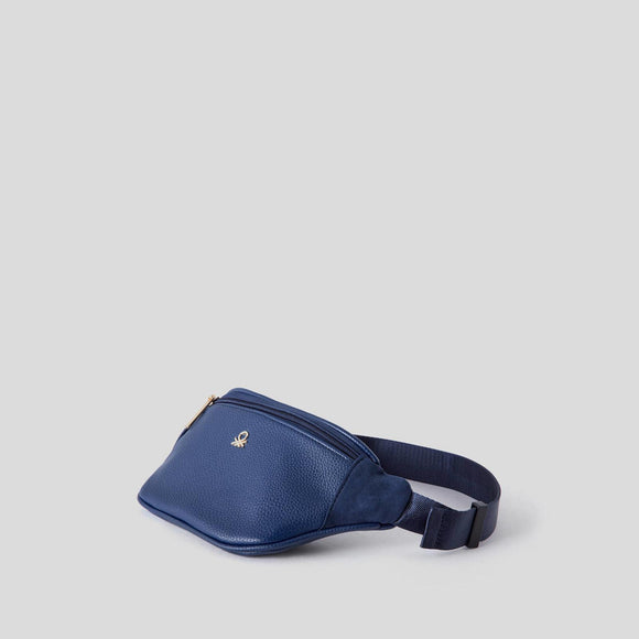Blue Compact Bum Bag
