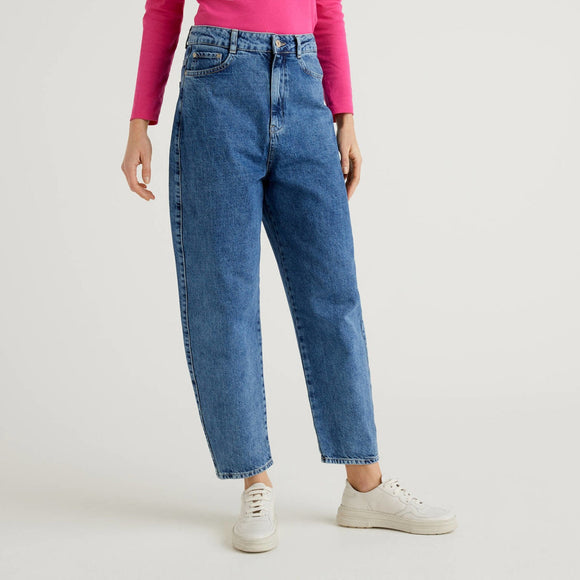 Blue Carrot Fit Benetton Jeans