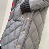 Grey Reversible Puffer Jacket