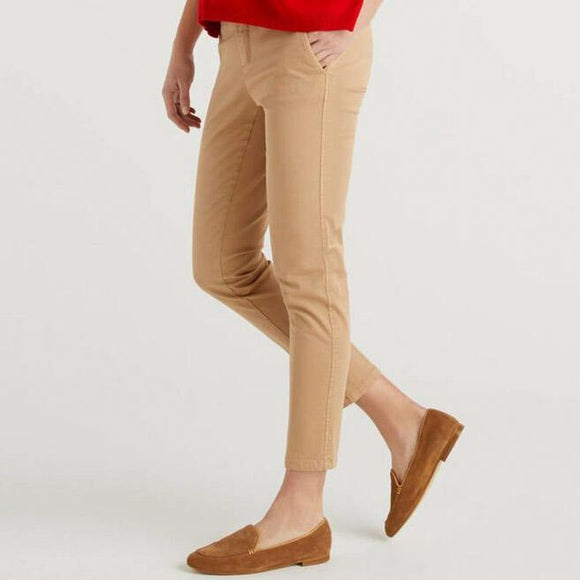 Light Camel Benetton Chinos