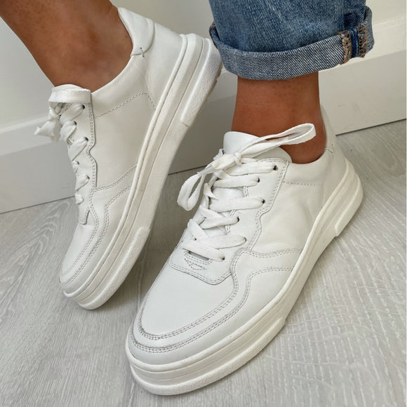 White Benetton Sneaker Trainers