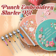 Load image into Gallery viewer, Punch Embroidery Starter Kit
