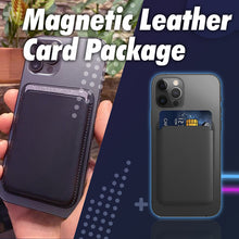 Load image into Gallery viewer, Magnetic Leather  Card Package