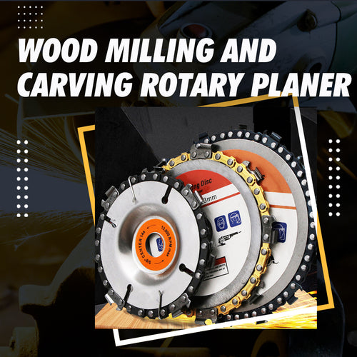 Wood Milling and Carving Rotary Planer