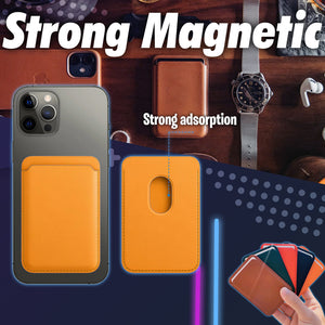 Magnetic Leather  Card Package