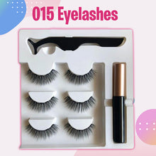 Load image into Gallery viewer, Glamorous Magnetic Eyelashes and Eyeliner (3pairs)