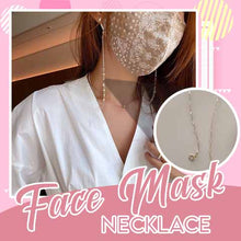 Load image into Gallery viewer, Face Mask Necklace