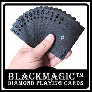 BlackMagic™ Diamond Playing Cards
