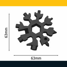 Load image into Gallery viewer, 18-in-1 Snowflake Multi-Tool